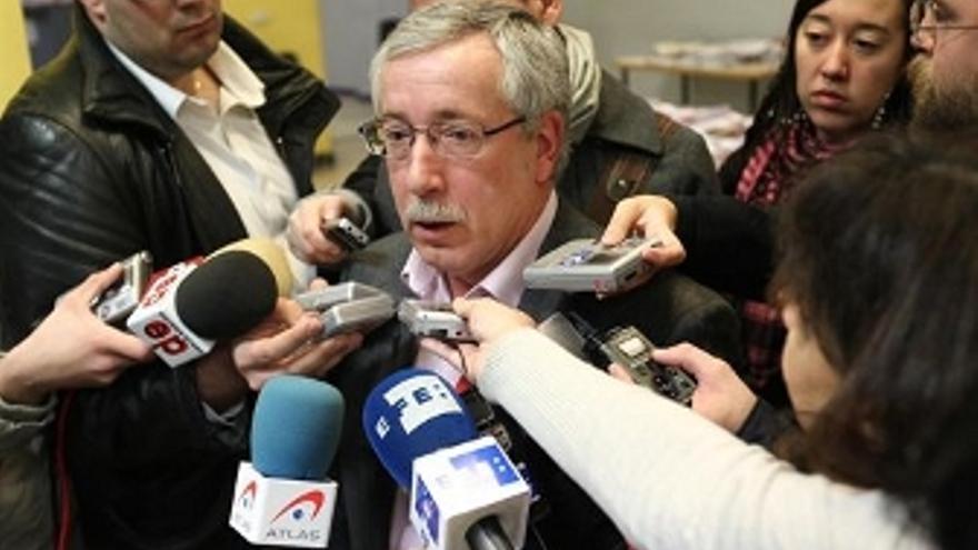 Ignacio Fernández Toxo. (EUROPA PRESS)