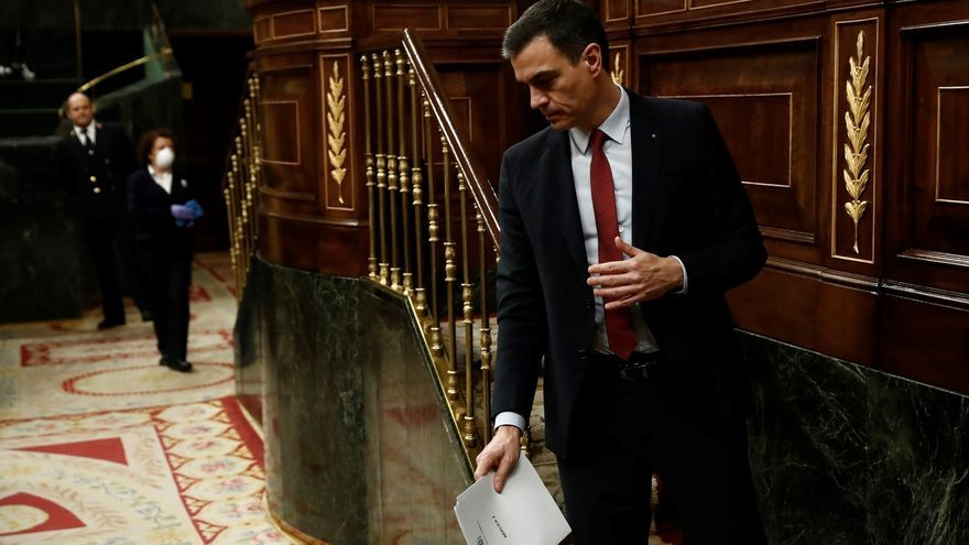 Sánchez anuncia un homenaje de Estado para las víctimas de la COVID19