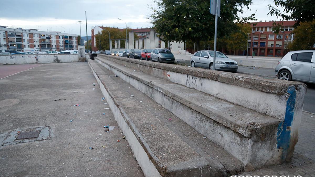 Una localización del barrio de Las Moreras.