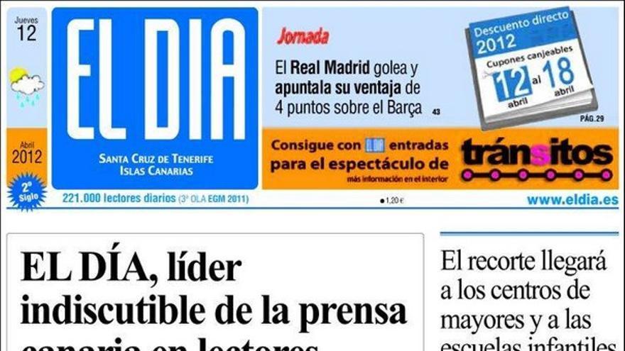 De las portadas del día (12/04/2012) #4