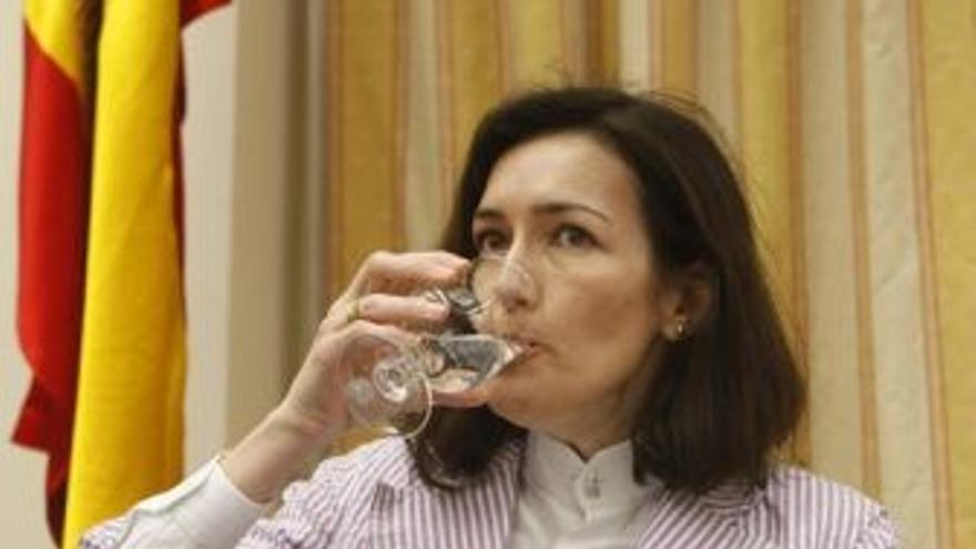 La ministra de Cultura. (EUROPA PRESS)