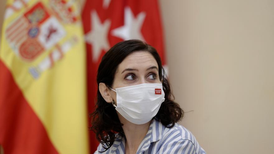 """Ayuso advierte que se rebelará ante """"intentos de subir impuestos"""" a Madrid"""