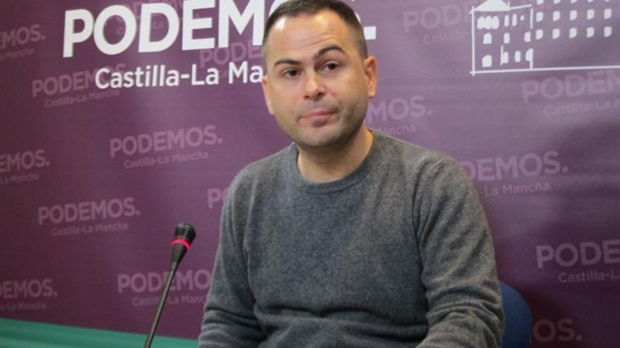 David Llorente, diputado regional de Podemos