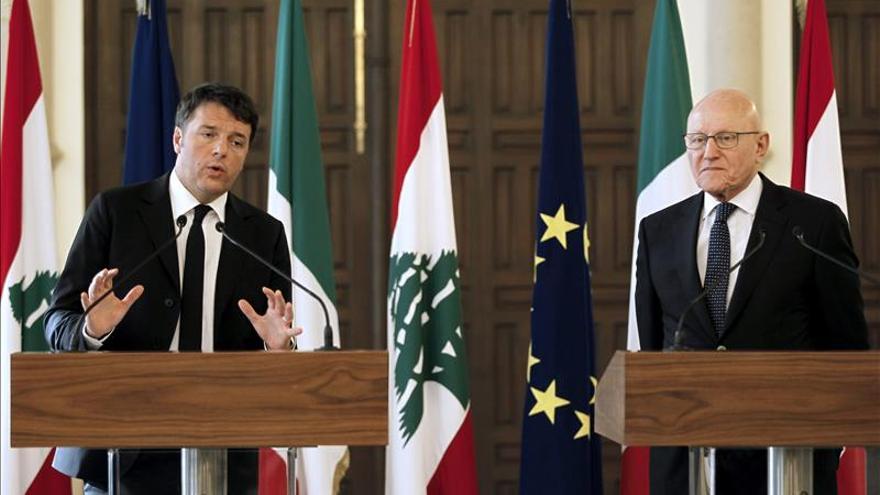 Renzi insta a Europa a prestar mas atención a Oriente Medio