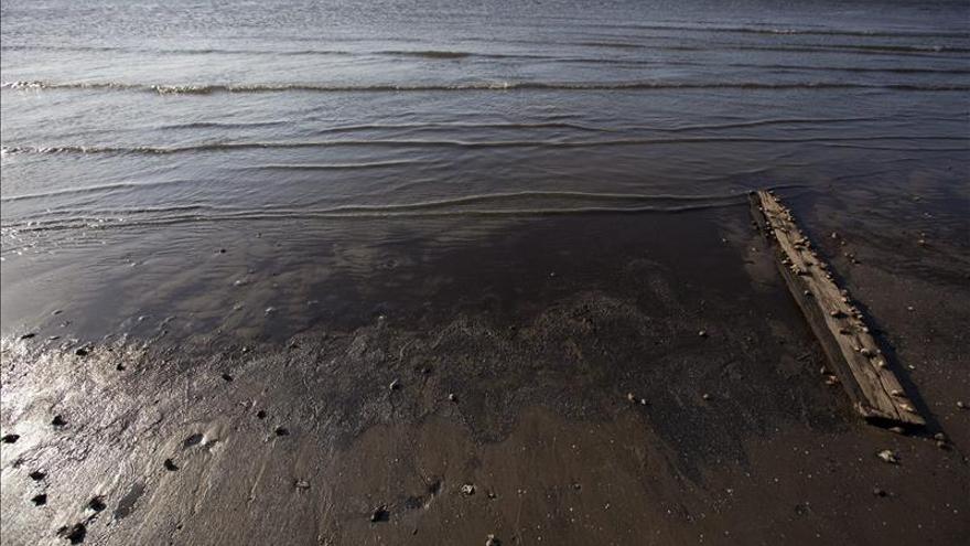 Cifran en 400.000 litros el petróleo vertido en el sur de California
