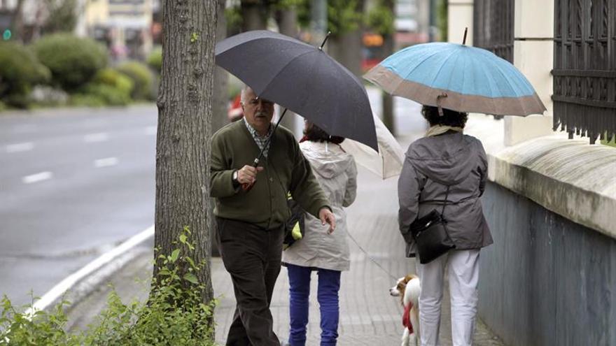Caída generalizada de las temperaturas en un fin de semana con lluvias