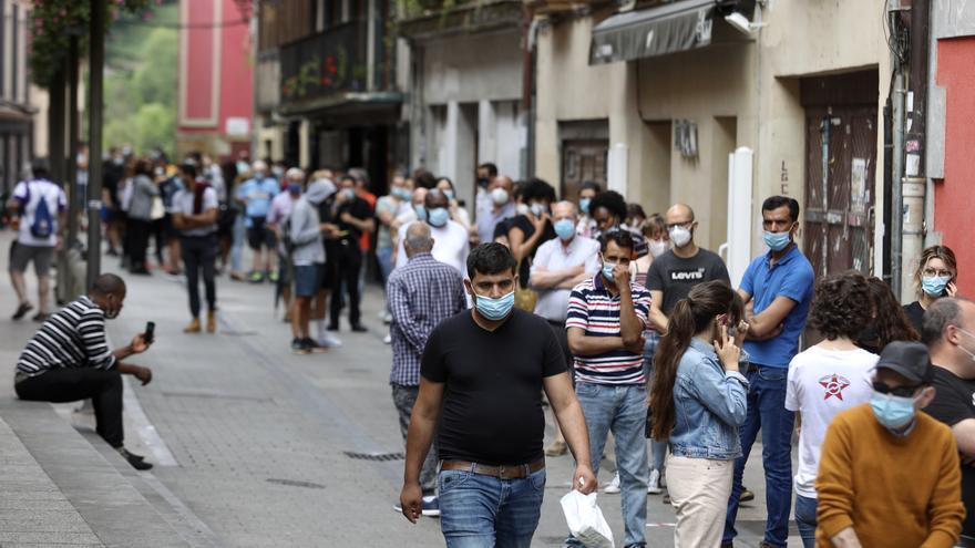El foco de Ordizia solamente suma un positivo en 24 horas aunque Euskadi acumula 122 en cuatro días