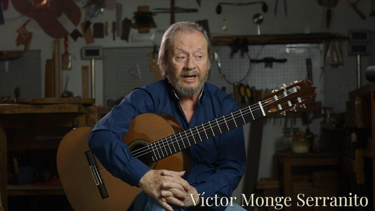 Víctor Monge, Serranito, que se despedirá de los escenarios en el Festival de la Guitarra