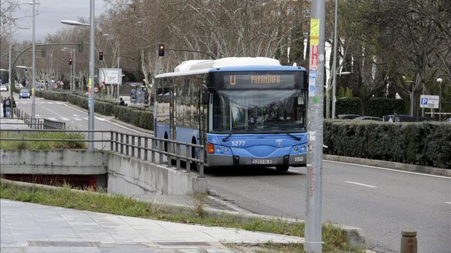 El número de viajeros en autobús aumentó más en Murcia y Madrid en