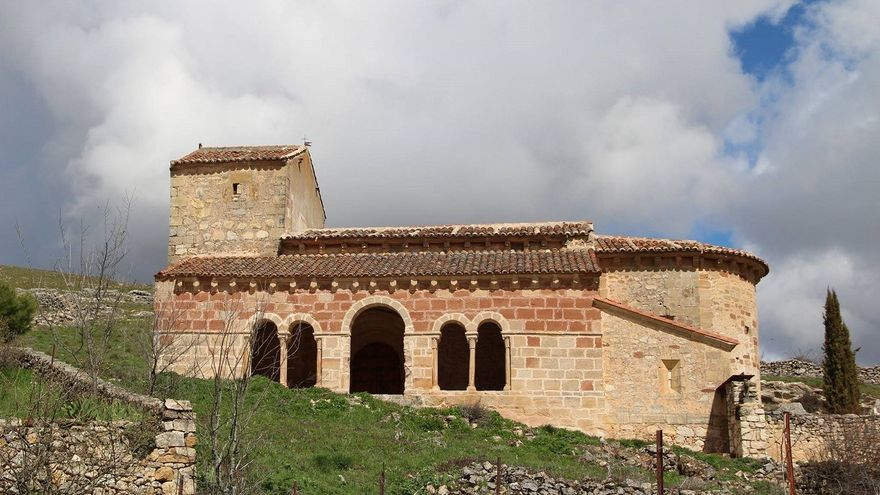 Iglesia de San Juan Bautista, en Jodra del Pinar (Guadalajara)