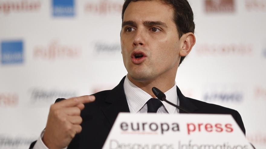 Rivera dice que en reformas como la del poder judicial se siente más cerca de Podemos que de los que no quieren cambios