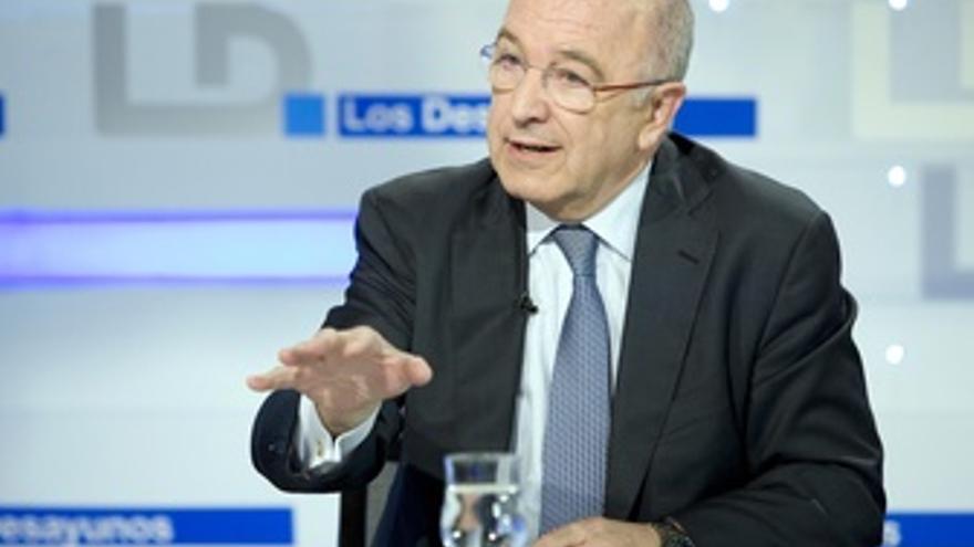 Vicepresidente De La Comisión Europea Y Exsecretario, Joaquín Almunia