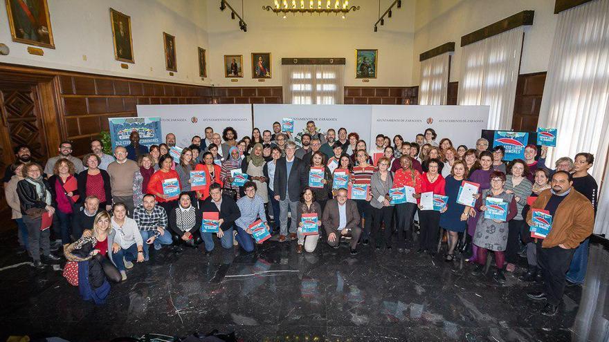 """57 entidades sociales conforman la """"Alianza Antirrumores"""" del Zaragoza"""