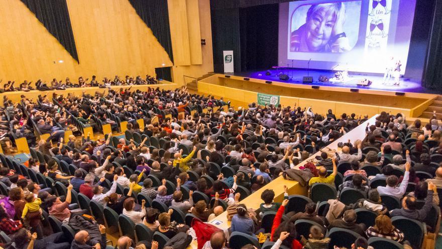 Un momento de la gala en el Teatro Auditorio de Guadalajara