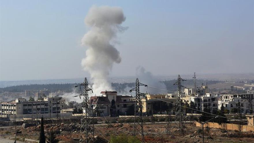 54 Muertos en Alepo en 24 horas de ataques aéreos y de artillería, según ONG