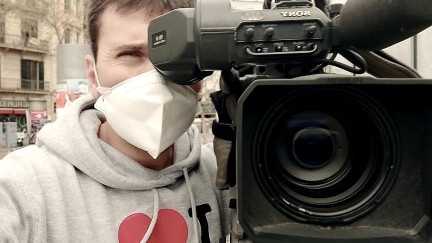 """Así está siendo para un cámara de Antena 3 """"informar en tiempos de coronavirus"""""""