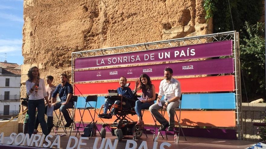 """Echenique critica que Díaz y Vara """"copien lo peor del PP"""" al """"enfrentar"""" a Extremadura y Andalucía con Cataluña"""