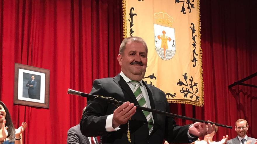 Andrés García, nuevo alcalde de Totana