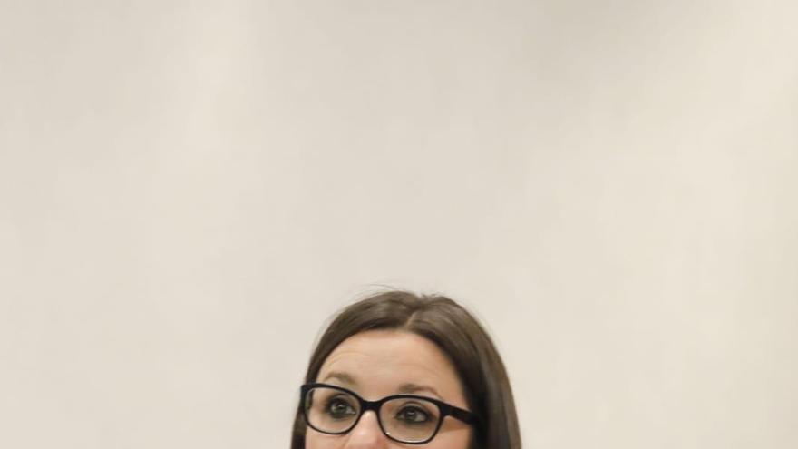 María Díaz, en una reciente intervención en las Cortes de Castilla-La Mancha