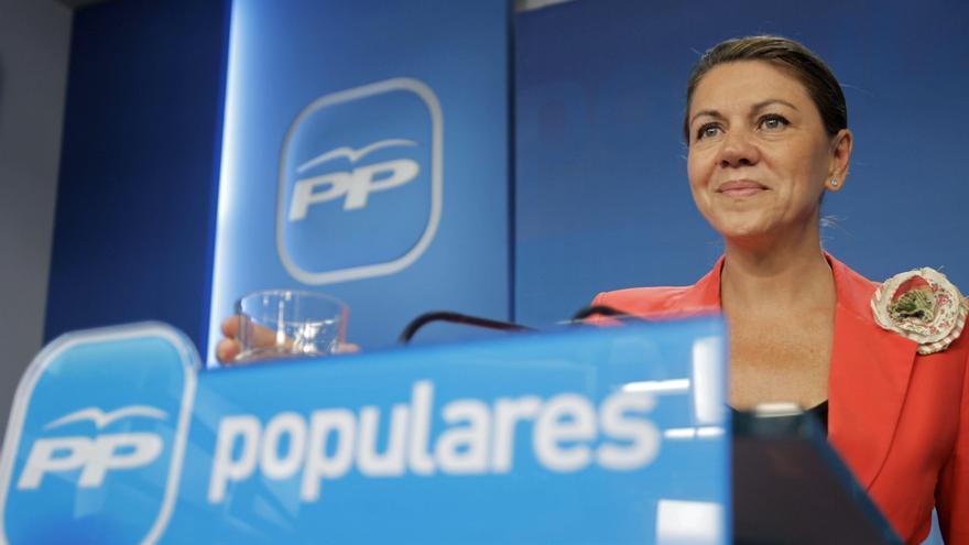 Cospedal afirma que la petición de ayuda no estará predeterminada por el interés del PP