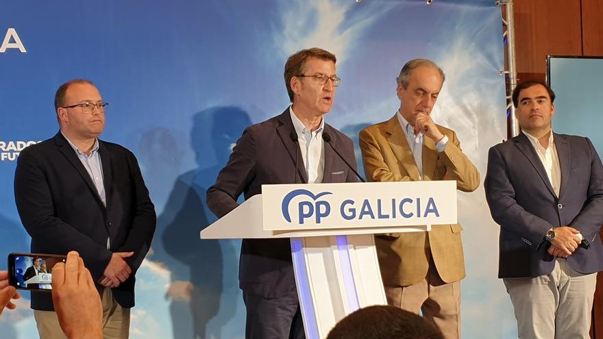 """Feijóo admite que buscaban resultados """"mejores"""" y recuerda que la Presidencia de Casado en el PP """"ya está decidida"""""""
