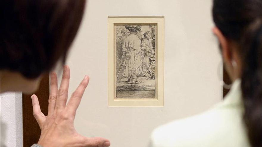 Rembrandt se forjó en el grabado y lo dignificó como medio de difusión