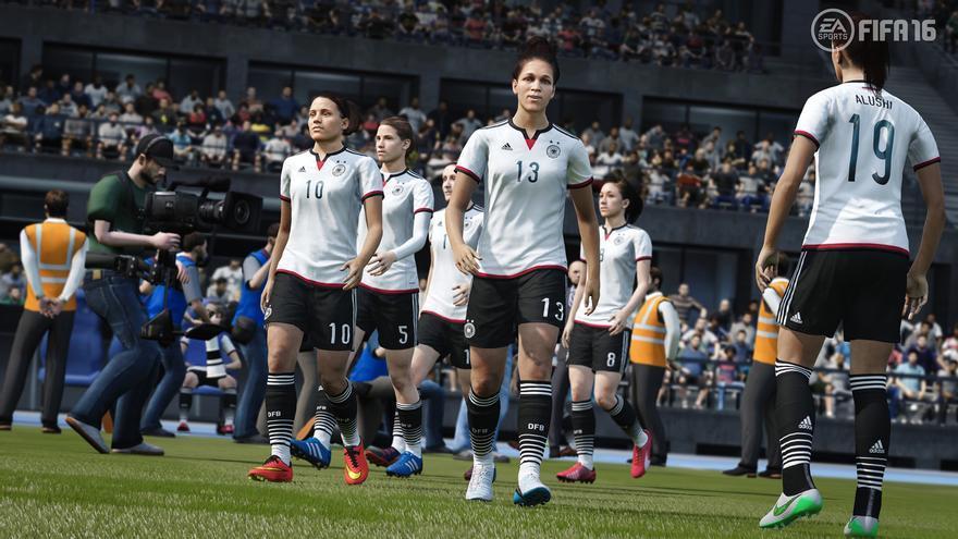fifa 16 fútbol femenino
