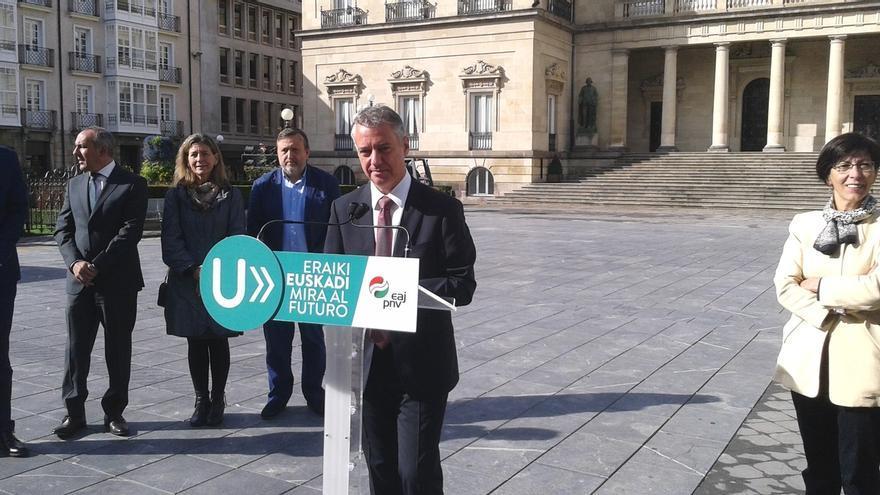 """Urkullu propone pactar con el Estado el reconocimiento de Euskadi como nación de forma """"legal"""" y sin """"rupturas"""""""