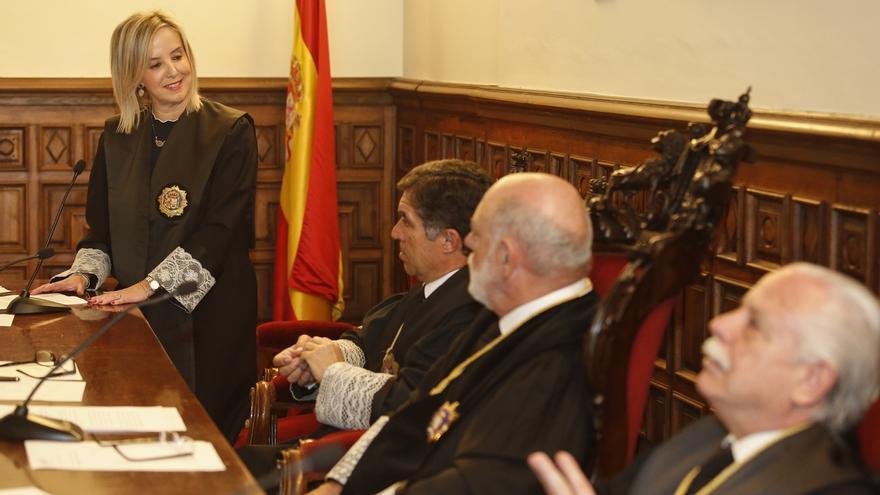 Ana Tárrago, fiscal superior de Andalucía, se estrena esta semana en el Parlamento presentando el informe de 2016