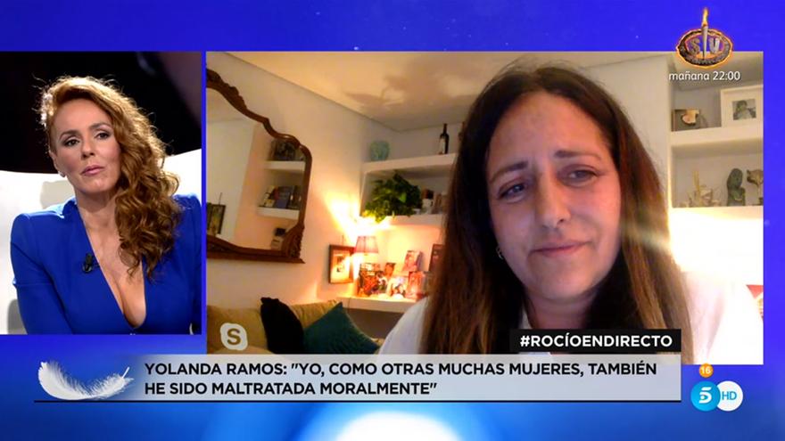 """Yolanda Ramos, entre lágrimas, a Rocío Carrasco: """"¿Tus amigas hemos estado a la altura?"""""""