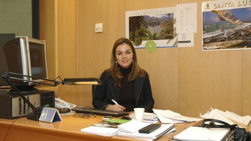 La candidata de NC al Senado María José López