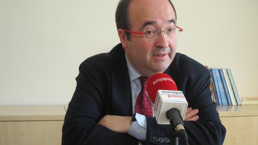 """Iceta (PSC) cree que el Govern convoca una reunión del referéndum para """"aparecer acompañado"""""""