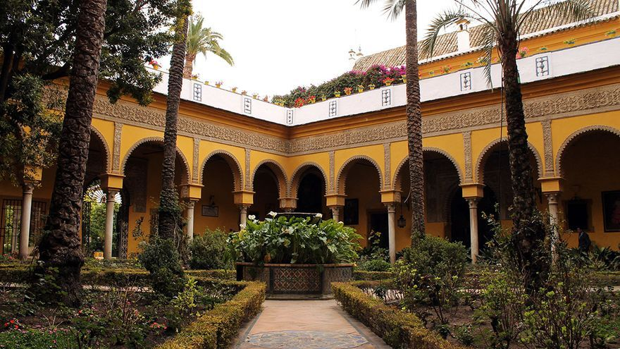 Palacio de las Dueñas, en Sevilla. / JUAN MIGUEL BAQUERO