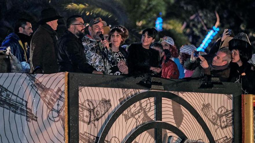 La lluvia deja sin Reinona al Carnaval de Las Palmas de Gran Canaria