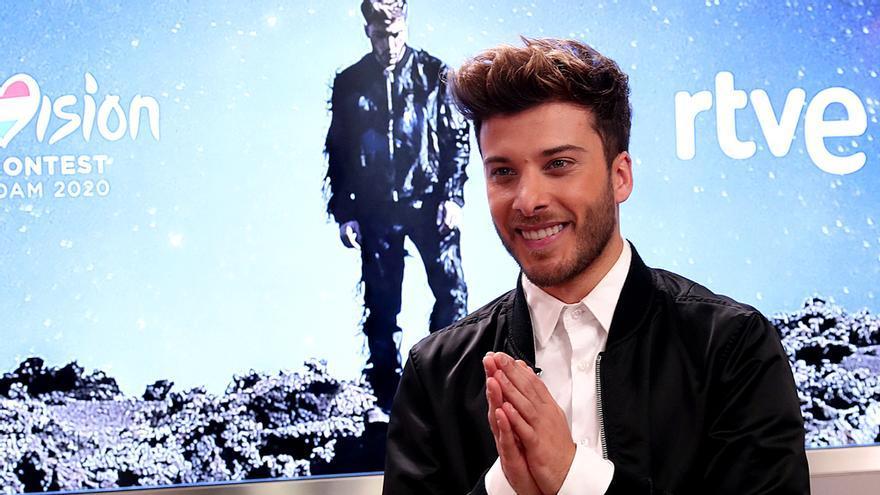 Blas Cantó y su 'Universo' para Eurovisión 2020
