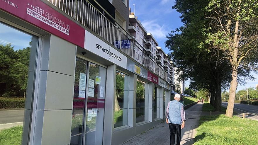 Oficina del Servicio Cántabro de Empleo en Santander