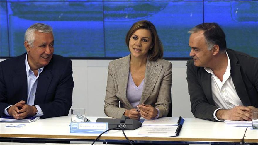 El PP pedirá el voto el 24M para situar a España mejor que antes de la crisis