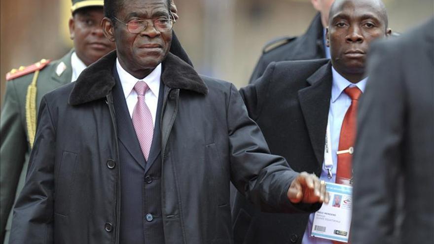 Obiang, satisfecho de la buena marcha de la campaña para las elecciones