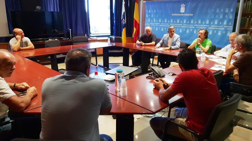 El consejero Narvay Quintero preside la reunión de trabajo celebrada esta semana en Santa Cruz de Tenerife