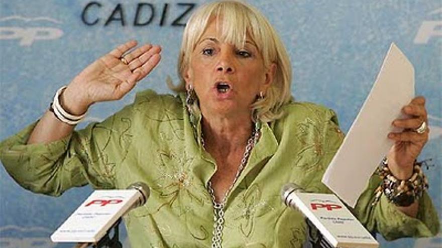 La alcaldesa de Cádiz, Teófila Martínez