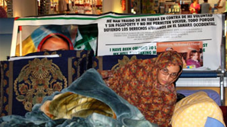 La salud de Aminetou Haidar empeora. (CANARIAS AHORA)