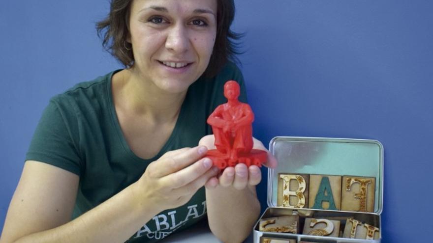 Delia Millán, la creadora de FabLab Cuenca