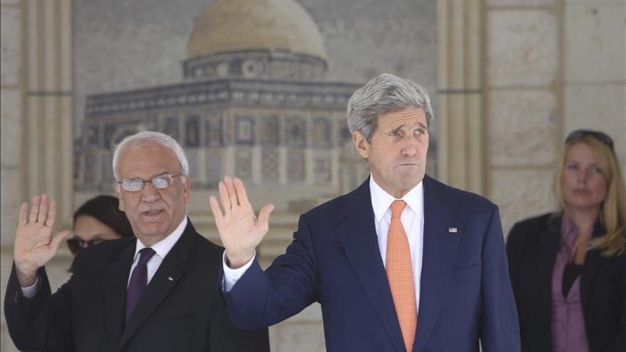 Kerry se reunirá el lunes con el negociador palestino tras las tensiones en Israel