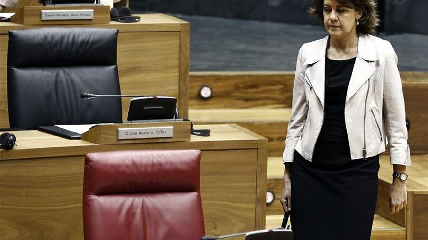 La expresidenta de Navarra, Yolanda Barcina.