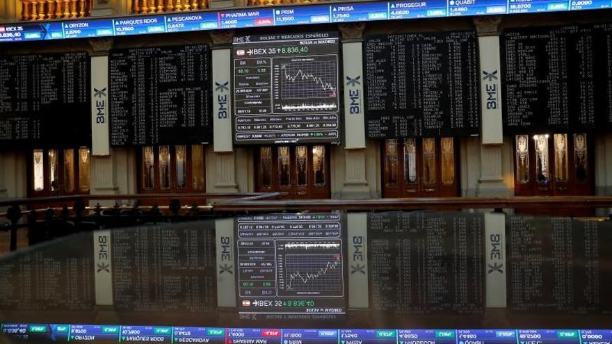 EL IBEX 35 sube un 0,29 % tras la apertura y alcanza los 8.882 puntos