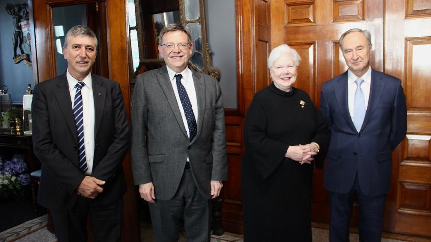 El president de la Generalitat y el conseller de Economía se reúnen con la representante de la Reina en Ontario