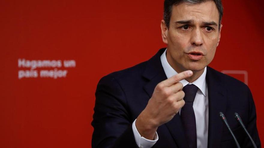 """Pedro Sánchez dice que ya tiene """"casi"""" decididos los candidatos para Madrid"""