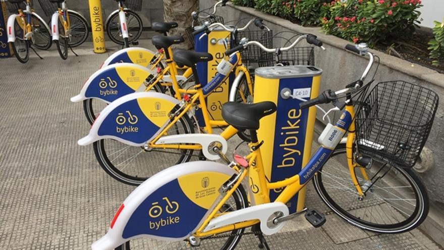 Bicicletas públicas de Las Palmas de Gran Canaria (AYUNTAMIENTO DE LAS PALMAS DE GRAN CANARIA)