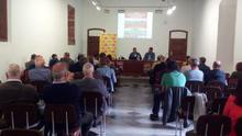 Presentación de la jornada este miércoles en La Laguna, con presencia del alcalde José Alberto Díaz