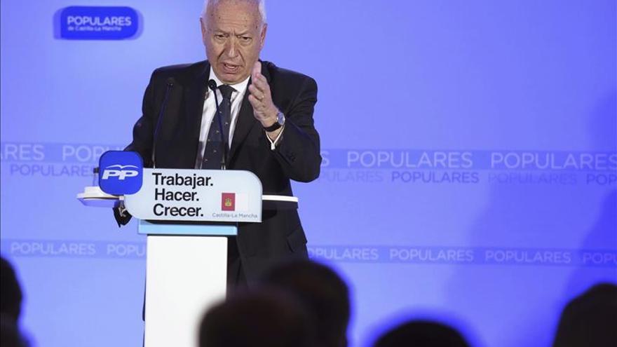 García-Margallo reclama para el PP reconocimiento de sacar a España de crisis
